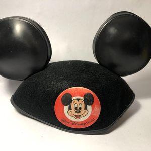 Vintage Disneyland Mickey Mouse Ears